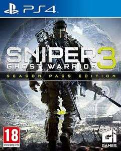 Used Like New Sniper: Ghost Warrior 3 Season Pass Edition (PS4) £12.99 @  boomerangrentals  ebay