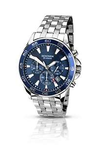 Sekonda 50% off Amazon Deal of the Day - Ends in 5 Hours : Sekonda Men's Quartz Watch with Chronograph Display and Stainless Steel Bracelet  £38 @ Amazon
