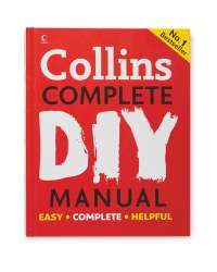 Not A Telly Deal! Collins Complete DIY Manual £9.99@Aldi online delivered