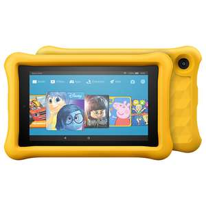 Amazon Fire HD 8 Kids Edition Tablet with Kid-Proof Case £89.95 / Amazon Fire 7 Kids Edition Tablet with Kid-Proof Case, £69.95 + 1 year sub for Kids Unlimited @ John Lewis + Two year Warranty
