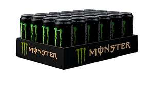 Monster Energy Drink Can 500 ml (Pack of 24) at Amazon for £15.30 (Prime or £20.39 non Prime) (£13 With 15% voucher on page)