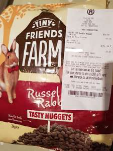 Russell Rabbit Nuggets rabbit food  2kg - IN STORE ONLY - Scanning half price £1.99 @ The Range