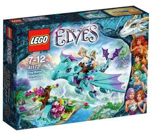 LEGO Elves 41172 The Water Dragon Adventure £11.62 (RRP £17.99, 35% saving) from Amazon. Free delivery with Prime or £20 spend.