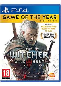 The Witcher 3 Wild Hunt - Game of the Year Edition ps4 £17.49 @ Base