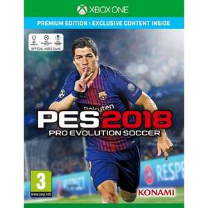 PES 2018 premium edition xbox one £27.95 @ The Game Collection