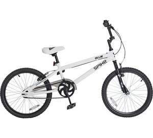 Spike Ollie 20 Inch BMX Bike @ Argos - 59.99 but voucher code FLASH20 takes it £47.99 + quidco possibly 4%