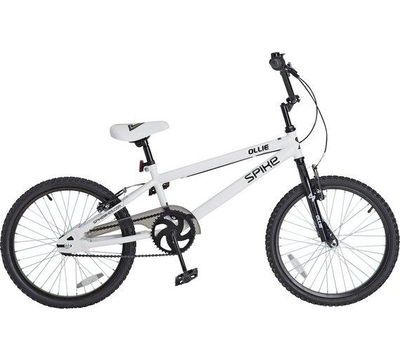 Spike Ollie 20 Inch BMX Bike @ Argos - 59.99 but voucher code FLASH20 takes it £47.99 + quidco possibly 4%