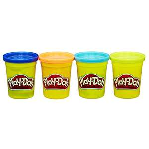 4 play doh classic tubs 112g - £2.18 @ Amazon (Add On Item)