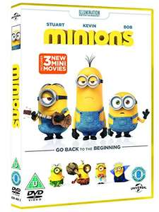 Minions DVD £2.95 (Prime) £4.94 delivered  Blu-ray £3.65 (Prime) £5.65 delivered @ Amazon