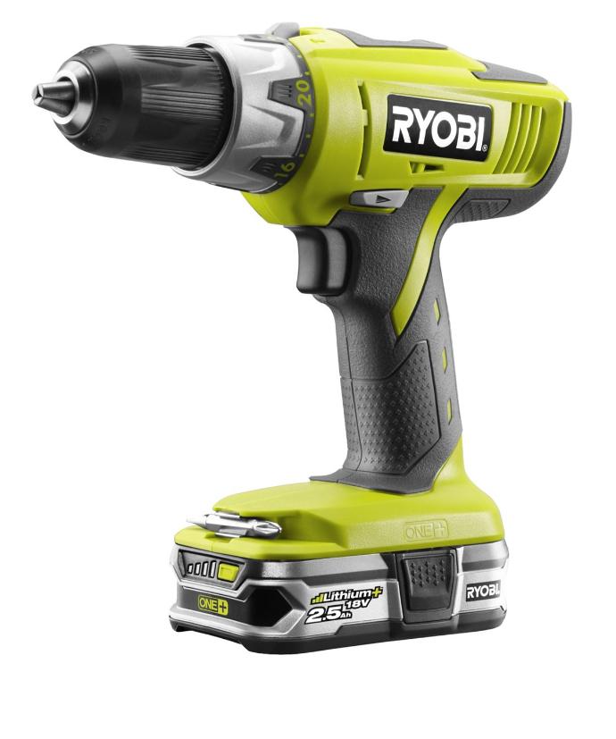 Ryobi percussion drill kit - £100 @ Homebase