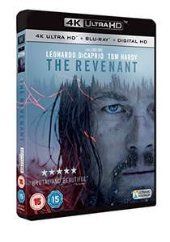 The Revenant [4K Ultra HD Blu-ray + UV Copy] [2016]   £14.22 Prime