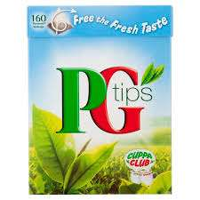 PG Tips 160 Tea bags RTC @ Tesco instore
