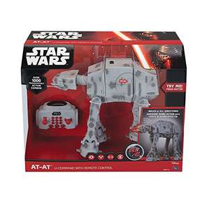 Star Wars RC Vehicle with Sound & Light Up U-Command AT-AT 25 cm £39.97 Prime Exclusive @ Amazon