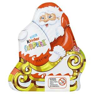 Kinder Santa surprise 75 g , 12 pack - £19.99 @ Amazon