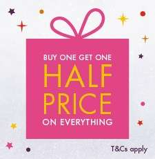 Buy One Get One Half Price on Everything at F Hinds (Including Sale!)