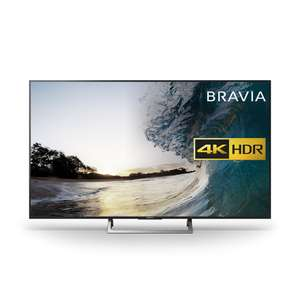 Sony Bravia KD55XE8596 LED HDR 4K Ultra HD Smart + Free Sony UBPX800 Black - 4K UHD Blu-Ray Player with Integrated WiFi, Bluetooth CO-OP £839