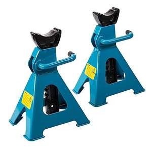 Silverline 763620 Axle Stand 3 Tonne - Set of 2 £13.84 Prime @ Amazon