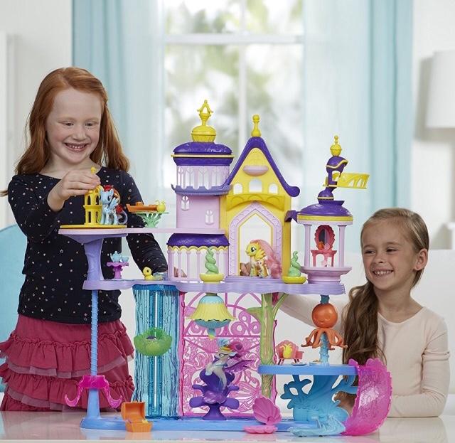 My Little Pony Canterlot and Seaquestria Castle £45.05 @ Amazon