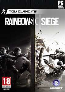 Tom Clancy's Rainbow Six Siege (Standard Edition/UPlay key) £8.99 @Amazon (Prime or £10.98 non Prime)
