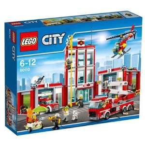 Lego city fire station from amazon for £43.59