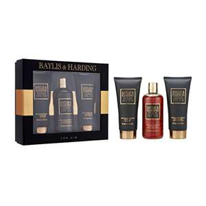 Baylis & Harding Men's Grooming Trio at Amazon for £2.40 Prime (£6.39 non Prime)