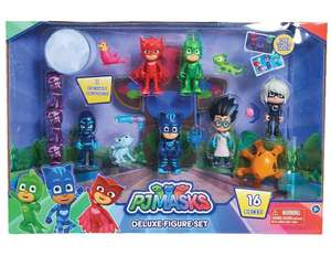 Pj mask 16 piece set at Amazon for £21.80