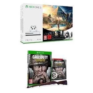Xbox One S (1TB) with Assassin's Creed Origins,Tom Clancy's Rainbow Six Siege + Call of Duty: WWII at Amazon for £229.99