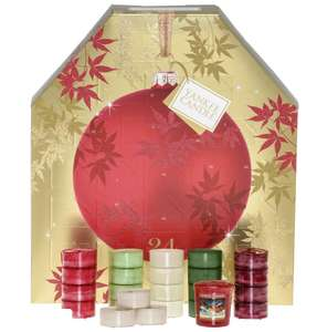 half price yankee candle calender 12.49 at boots