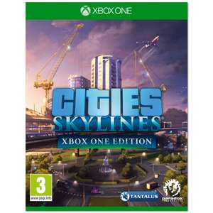 Cities Skylines Xbox One @ 365games for £21.99