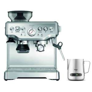 Sage Barista Express with 6 months IFC and free temp controlled jug for £449.10 at ecookshop