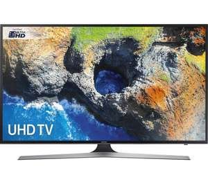 "SAMSUNG UE58MU6120 58"" Smart 4K Ultra HD HDR LED TV + potentially free soundbar worth £399 - £898 (£698 after cashback)"