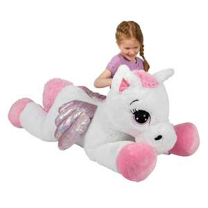 Pearl the Pegasus (120cm) reduced by £10 at Smyths Toy Store - Free Delivery or Click and Collect