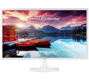 Samsung S32F351 32 Inch LED Monitor - White, £199.99 from Argos