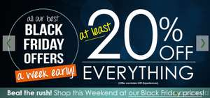 At Least 20% Off Everything Excluding Gift Experiences @ Temptation Gifts