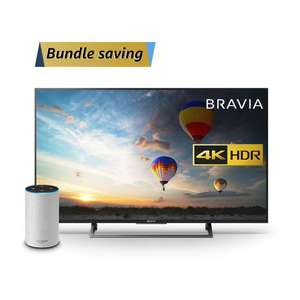 Sony Bravia KD49XE8004 49 inch TV with All New Echo (2nd Generation) - £575.10 @ Amazon