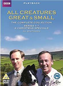 All Creatures Great and Small Complete Collection [DVD] [2013] - £19.99 @ Amazon Prime