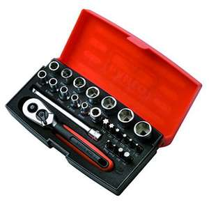 Bahco SL25 Socket Set 25 Piece 1/4 Inch Drive £15.95 @ amazon Prime (£17.95 non-Prime