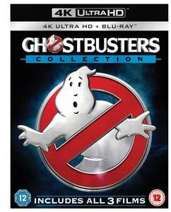 Ghostbusters 1-3 Collection (4K Ultra HD + Blu-ray + Digital HD) [UHD] £28.80 with code @ Zoom