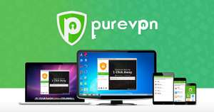 PureVPN (2-Years Subscription) 76% OFF - 2 year subscription for £1.85pm (total cost £44.40)