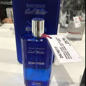 Davidoff Cool Water Ocean Extreme 200ml @ Costco in-store offer (VAT included) - £35.98