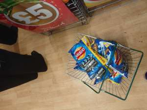 Walkers  Crisps Free movie rental with 2 packs Poundland - £1 each