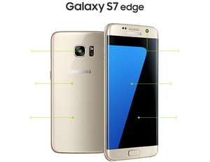 Samsung S7 Edge £23 Per Month Inc 4GB data on 3 Network Unl Mins/Txts -  Total term = £552 @ Mobile Phones Direct