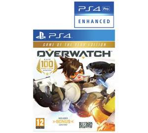 Overwatch Game of the Year Edition - PS4/XB on sale at Argos - £24.99