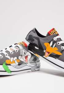 Chuck Taylor all Star OX Bugs Bunny/Daffy Trainers now £27.99 delivered @ Zalando