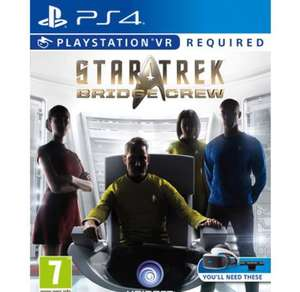 VR Star Trek: Bridge Crew PS4 - £19.99 C&C instore @ Smyths