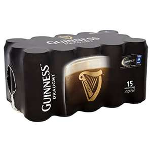 Guinness Draught, 15 x 440ml - £12 @ Amazon Pantry (Prime Exclusive)