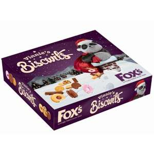 Fox's Vinnie's Biscwits Selection Box 365g £1.50 @ B&M