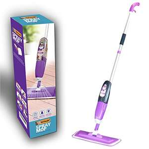 Vorfreude – Floor Mop with Integrated spray – Lifetime Guarantee – Capacity 700Ml Sold by Vorfreude and Fulfilled by Amazon for £19.79 Prime (or add £3.99 non Prime)