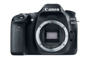 Canon EOS 80D Body Only Digital SLR Camera At eGlobal Central £624.99