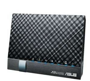 ASUS DSL-AC56U AC1200 Wireless Dual-Band VDSL/ADSL 2+ Gigabit Modem Router at Amazon for £51.78